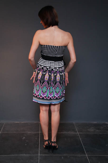 Платье трансформер донна каран выкройка