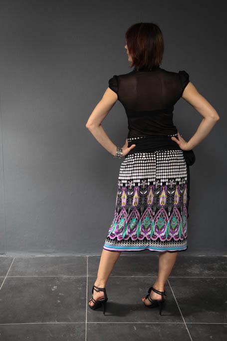 Платье-трансформер для полных