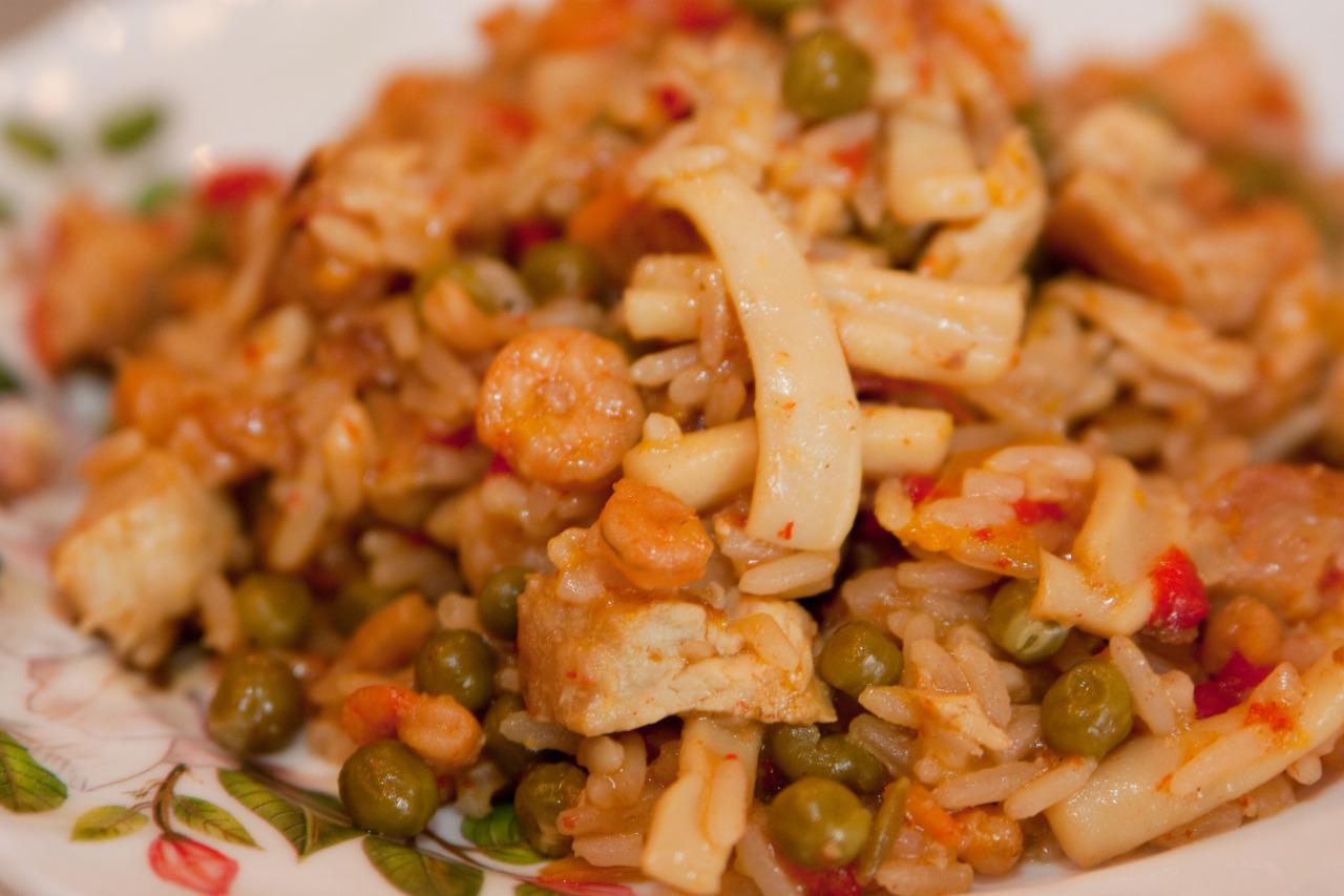 паэлья из морепродуктов рецепт мультиварка