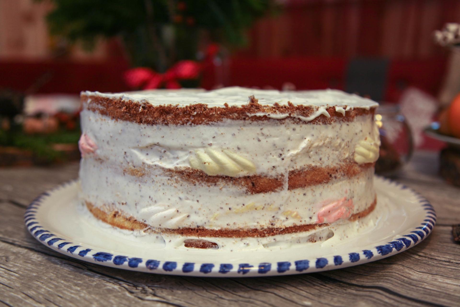 торт из зефира без выпечки с фото уха карпа